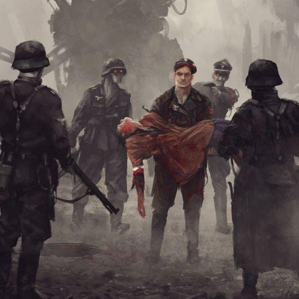 Powstanie Warszawskie - Na ratunek. Nadruk sublimacyjny