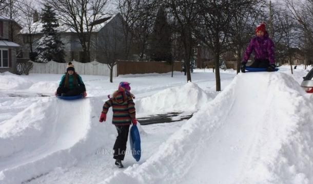 10 Games to Get Your Kids Outside and Active in Winter - Close to Home and Family Friendly