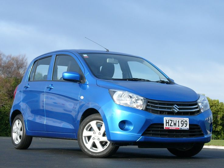 Blue Suzuki Celerio www.gilmourmotors.co.nz/used-cars