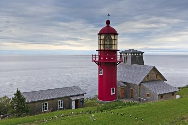 Point-a-la-Renommee Lighthouse, Gaspesie Penninsula, Quebec, Canada