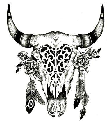 antlers boho...i dig it ♥ itt'd match my big ass skull head dress one im rockin on my left shouldah! :D