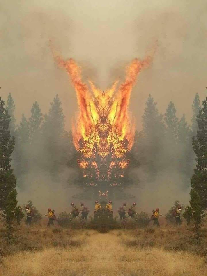 Pin by Ing-Ong V-m on Weird pictures | Fire demon, Fire