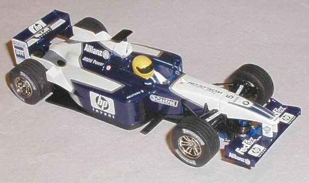 Scalextric car C2417 Williams BMW FW24 Ralf Schumacher