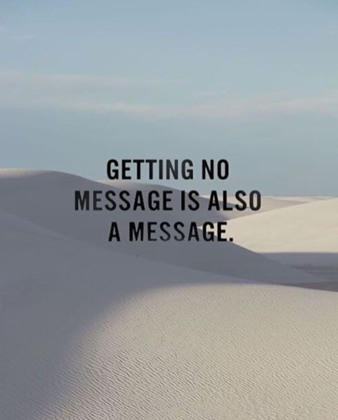 getting no message is also a message // plan your day // metropolitan lifestyle //