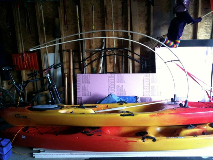 29 best images about kayak ideas on pinterest sun shade for Diy kayak fishing accessories