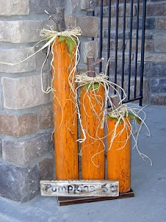 Landscape Timber Pumpkins/For mle fall festival