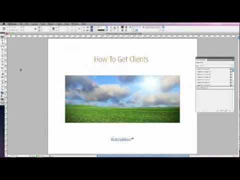 how to show links indesign
