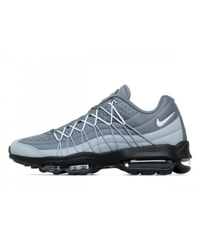 35ea94fbedc Nike Air Max 95 Ultra SE Wolf Grey Trainers Sale