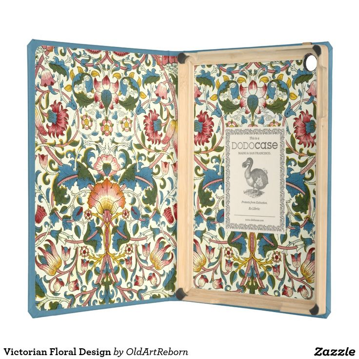 Victorian Floral Design Cover For iPad Air