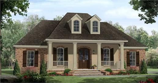 The House Plans that you see below are some of the best examples of French Country Home Design I've ever seen. Not really, we're just pretending.