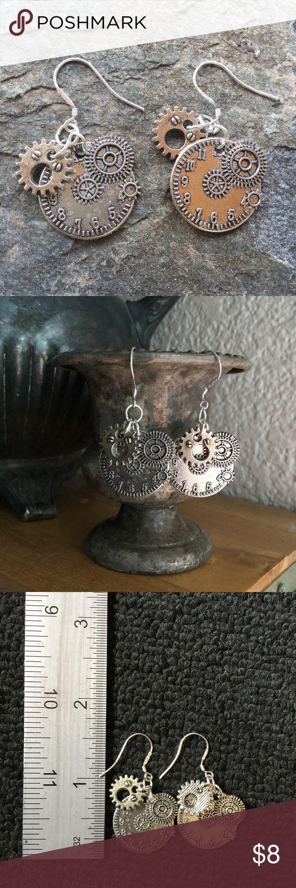 Steam punk Gear Earrings ✨ Jewelry Earrings