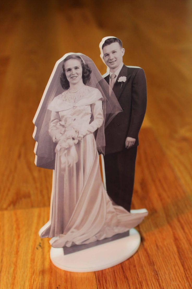 Cake topper for Anniversary