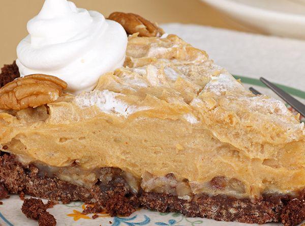 No Bake Peanut Butter Pie | Reciep box | Pinterest