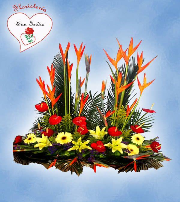 17 mejores ideas sobre arreglos florales exoticos en - Flores tropicales fotos ...