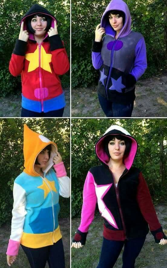 Steven Universe sweaters :)