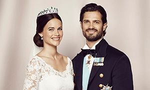 Prince Carl Philip and Princess Sofia's official wedding pictures released