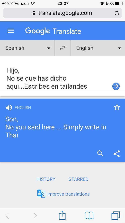 Oh google translate translate to spanish google
