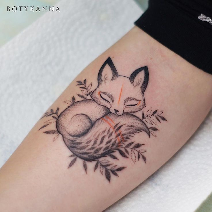 The 25+ Best Fox Tattoos Ideas On Pinterest