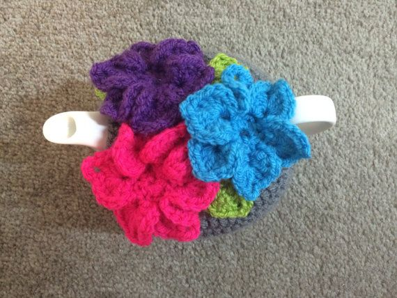 Teapot cozy crochet for a small 1/2 cups tea door SpecialHandmade482