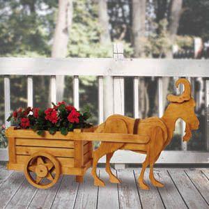 Garden Goat U0026 Garden Cart DIY Woodcraft Pattern Set #1530 S   Our Exclusive