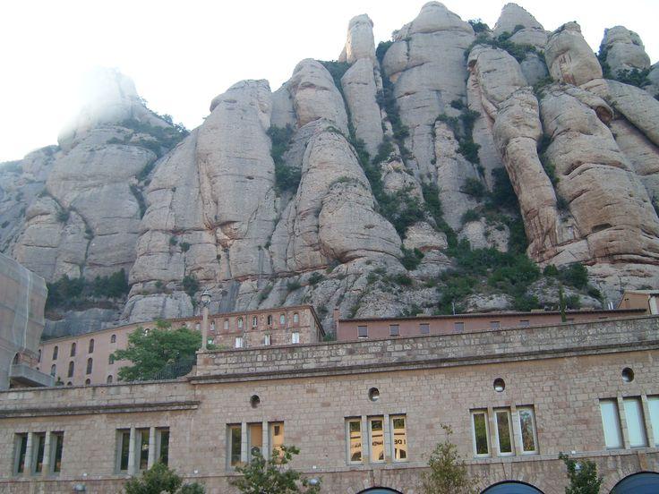 Montaña Montserrat, España.