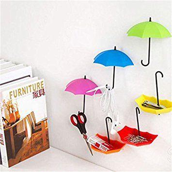 Tres Paraguas que se adhieren a todas las superficies de la manera que más te guste.