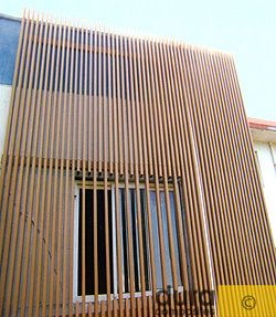 Composite Timber Cladding Examples