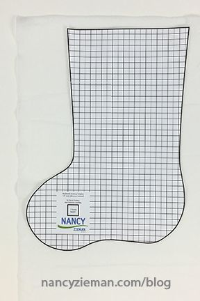 Nancy Zieman's 2016 Christmas Stocking Sewing Challenge. Sew, quilt, or embroider any style of Christmas stocking and enter the contest. Half-Square Triangle Scrappy Patchwork Christmas Stocking by Nancy Zieman   Third Annual Stocking Sewing Challenge   Sewing With Nancy