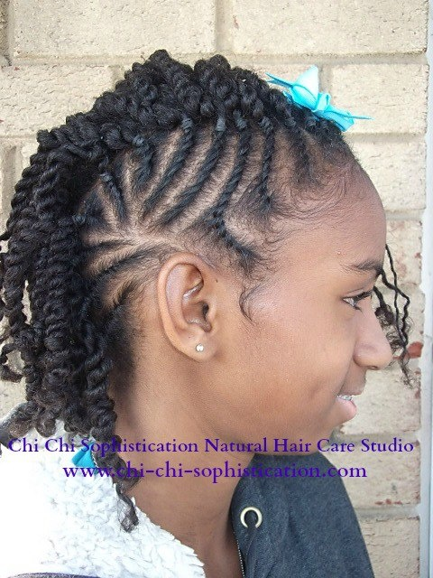 Marvelous 1000 Images About Kids Natural Hair Twists On Pinterest Two Short Hairstyles For Black Women Fulllsitofus