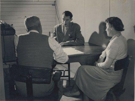 Bonegilla Employment Office 1940s