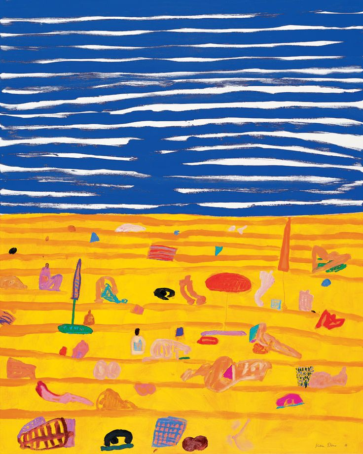 Ken Done - art / current exhibition / gallery / beach-painting-iii-1999