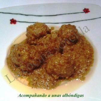 SALSA DE ALMENDRAS
