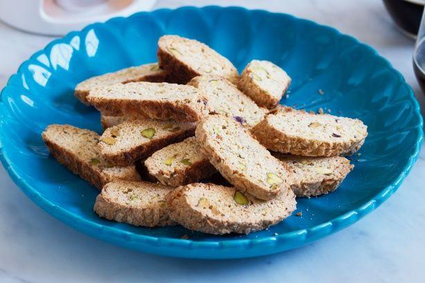 Noce di cocco e pistacchio biscotti | barrette e biscotti | Pinterest