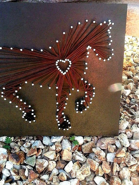 Amateur de chevaux Horse art de chaîne art par ThejewelryCage