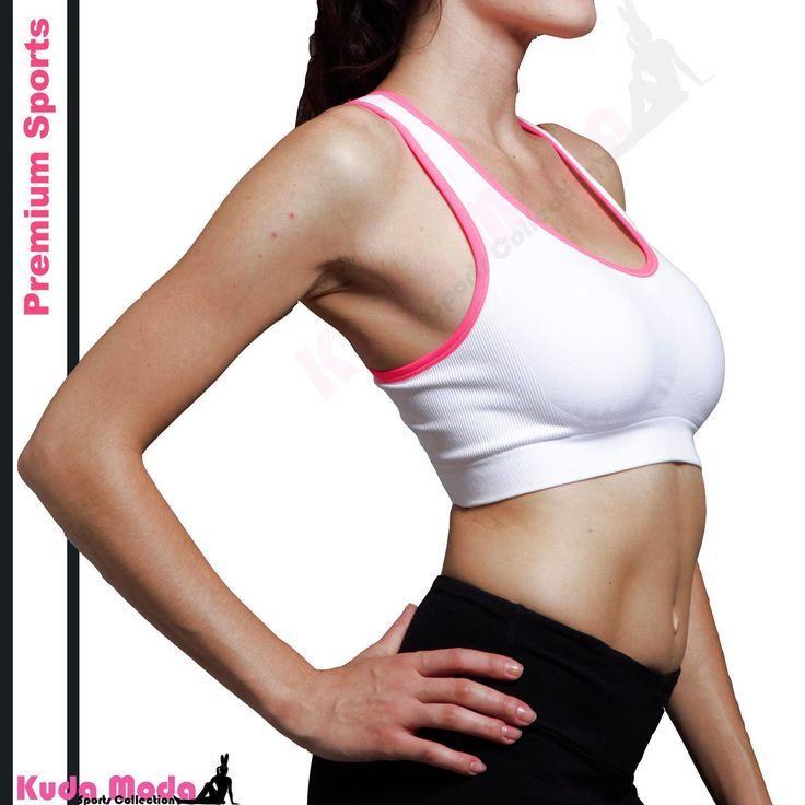 Homma Pro Racerback Tank Top Athletic Micro Fiber Yarns Sports Running Yoga Bra #yogabra