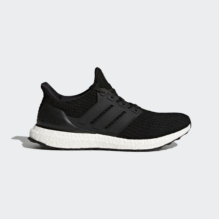 {BB6166} MENS ADIDAS ULTRA BOOST RUNNING SHOE BLACK/WHITE NEW!