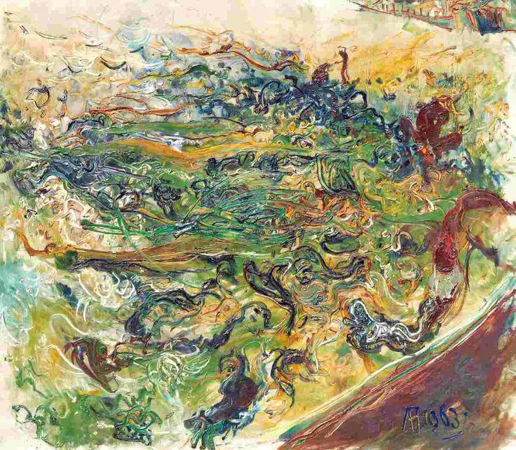 Affandi - Landscape