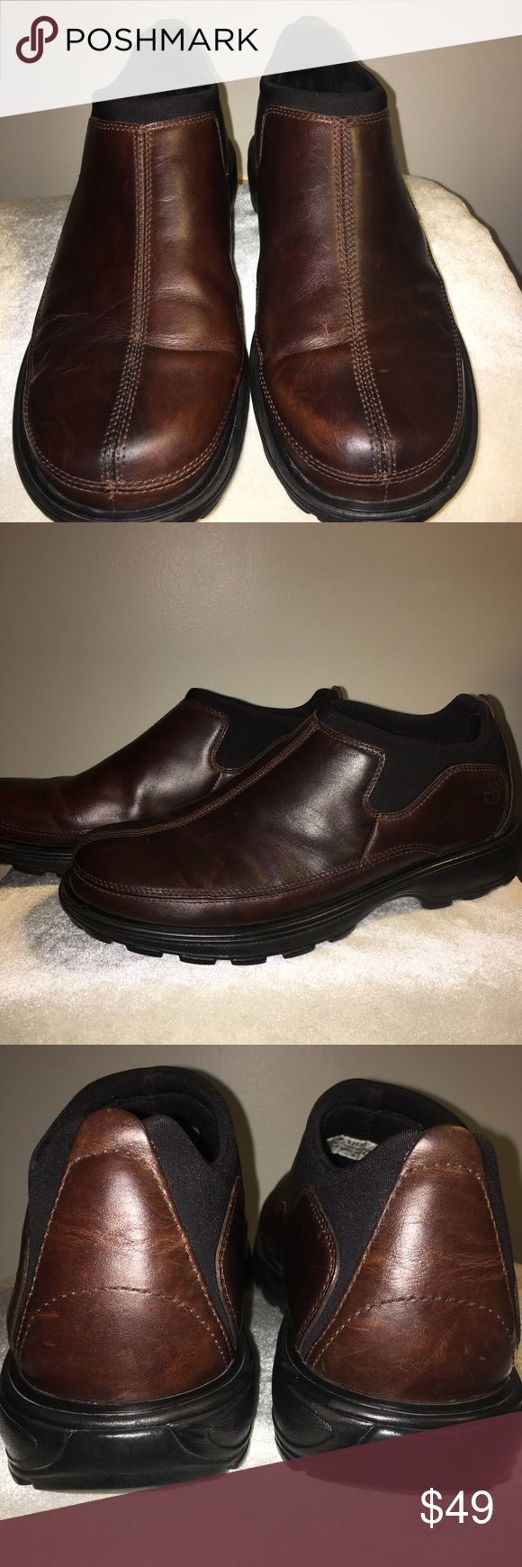 Timberland brown leather soft comfort shoe sz 10.5 Timberland brown leather soft comfort shoe size 10.5 Timberland Shoes Loafers & Slip-Ons