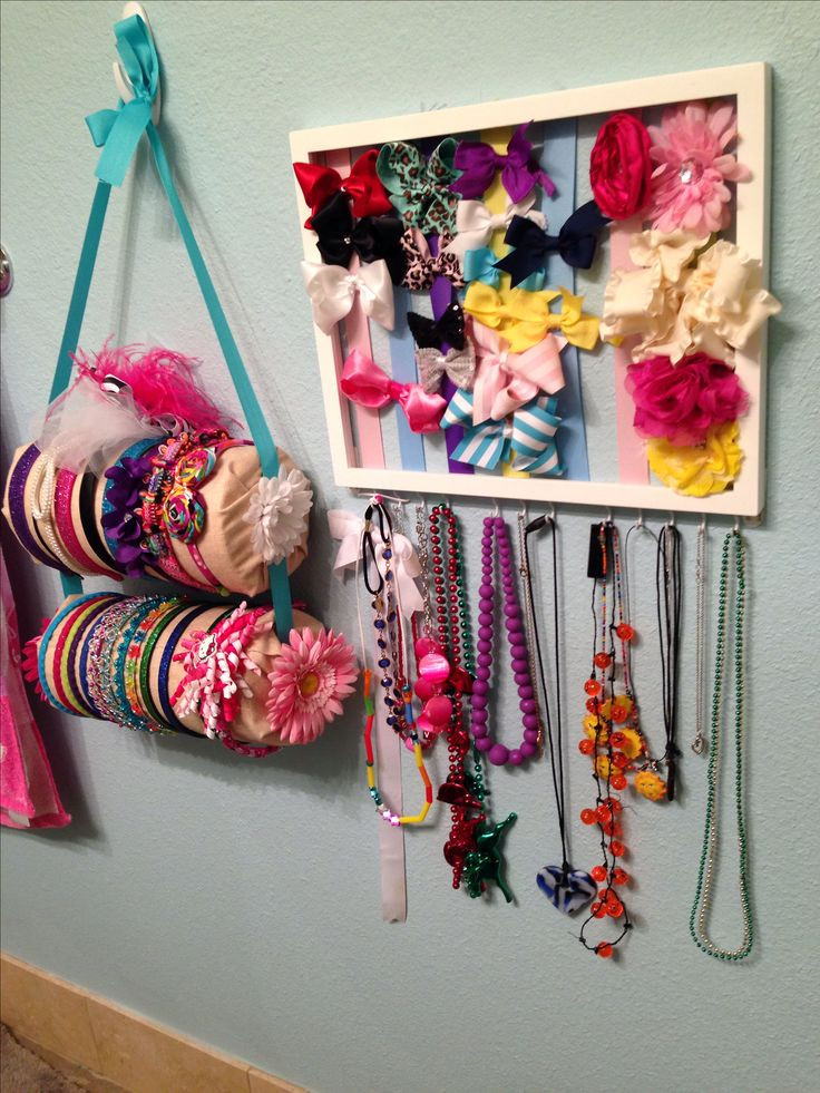 17 Best Ideas About Organizing Hair Accessories On