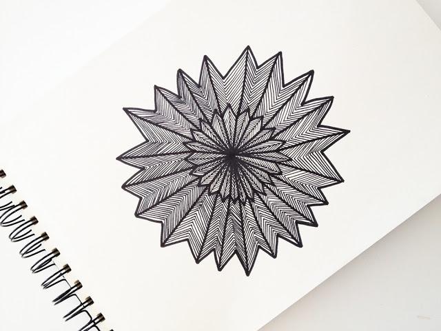 DIY - Tegn et mønster #8