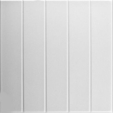 "Bead Board - Styrofoam Ceiling Tile - 20""x20"" - #R104 traditional-ceiling-tile"