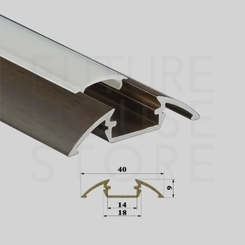 8 best p4 aluminium profile for led strip images on pinterest anodized aluminium surface profile channel extrusion p4 wenge 1m led strip uk in home furniture solutioingenieria Images