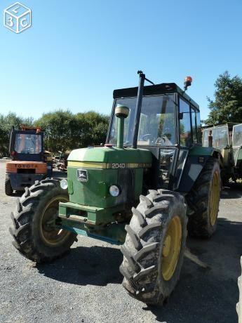 Tracteur John Deere 2040