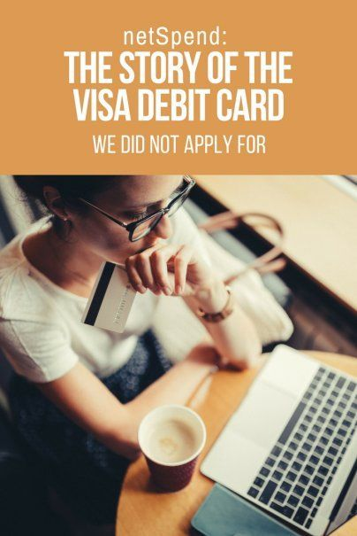 netSpend The Story of the Visa Debit Card We Did Not