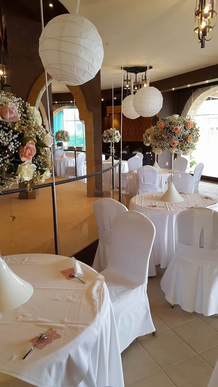 Wedding Decoration in Castello venue of Esperos Palace Hotel