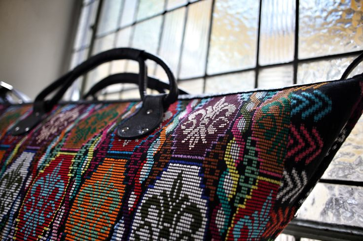 Morning Train- Guatemala bag collection