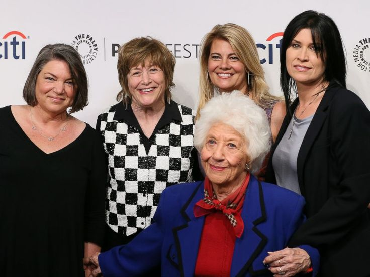 PHOTO: Mindy Cohn, Geri Jewell, Lisa Whelchel, Charlotte Rae and Nancy McKeon attend the 2014 PaleyFestFall on Sept. 15, 2014, in Beverly Hills, Calif.
