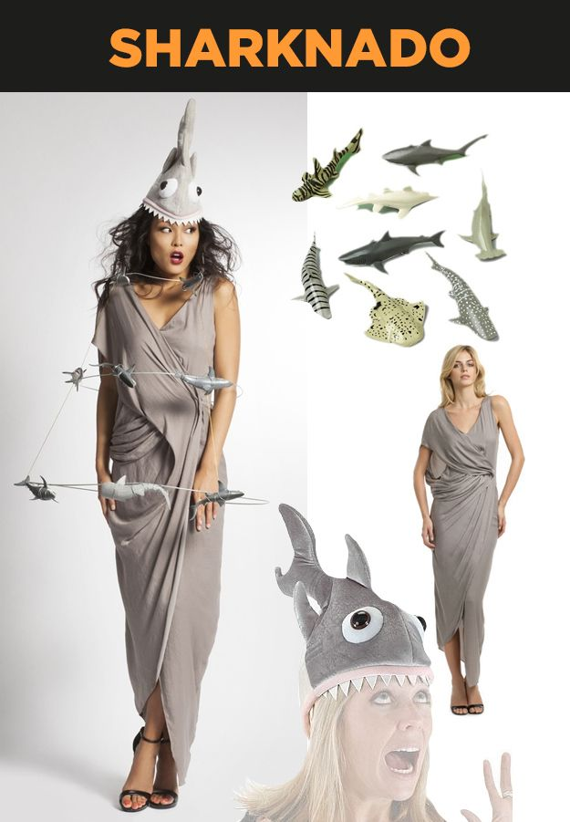 18 Timely Halloween Costumes For 2013: Sharknado!
