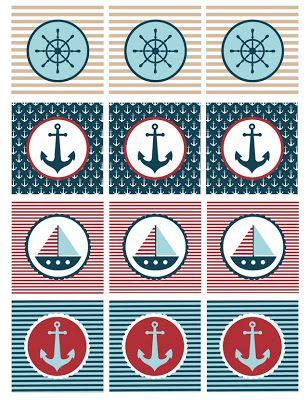 Nautical Baby Shower Printables
