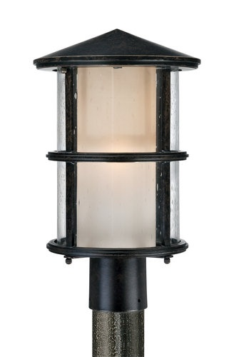 "Quoizel QF1516IB Imperial Bronze Build.com Exclusive 1 Light Outdoor Post Light from the Build.com Exclusive Collection QF1516. 1 Light Outdoor Post LightComplete the outdoor look with this Outdoor Post Light. Featuring a transitional design, and seeded glass shade, this Post Light will be the perfect fit for your outdoor decor. Features: Dimensions: 15.5""(H) x 9.5""(W)UL Listed for Wet LocationsAluminum MaterialRequires (1) 100W A19 Medium Base Bulb (Not Included)Imperial Bronze…"